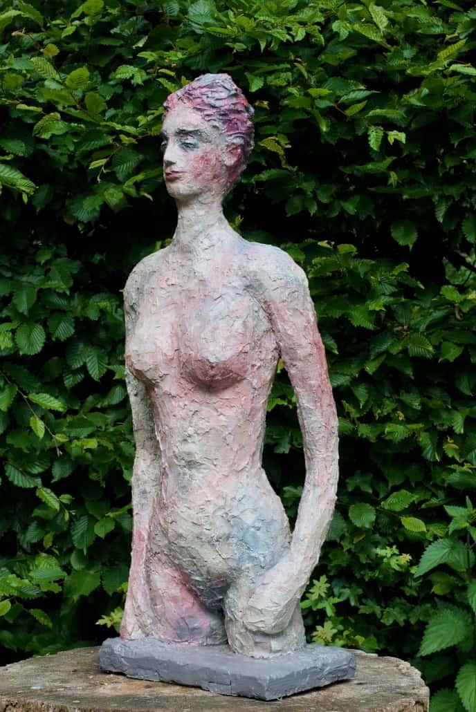 Julia - Gipse (Abguß in Bronze) ca. 40 cm x 120 cm x 30 cm, 2018